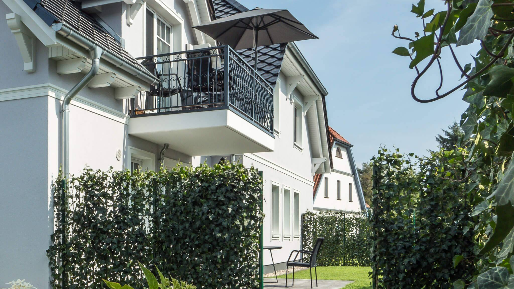 Ferienhaus meerle - Garten