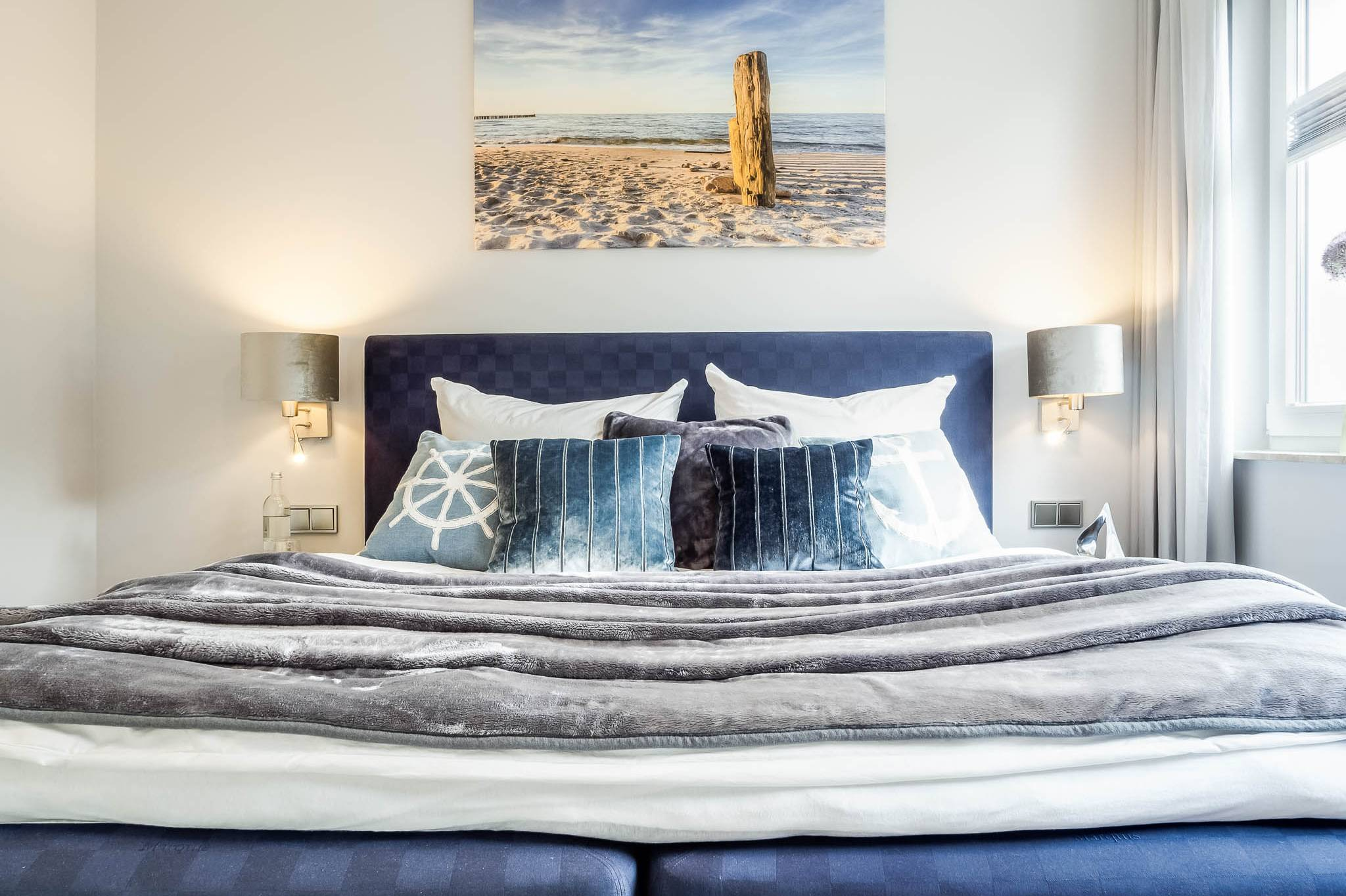 Ferienwohnung meerle 1 – Schlafzimmer