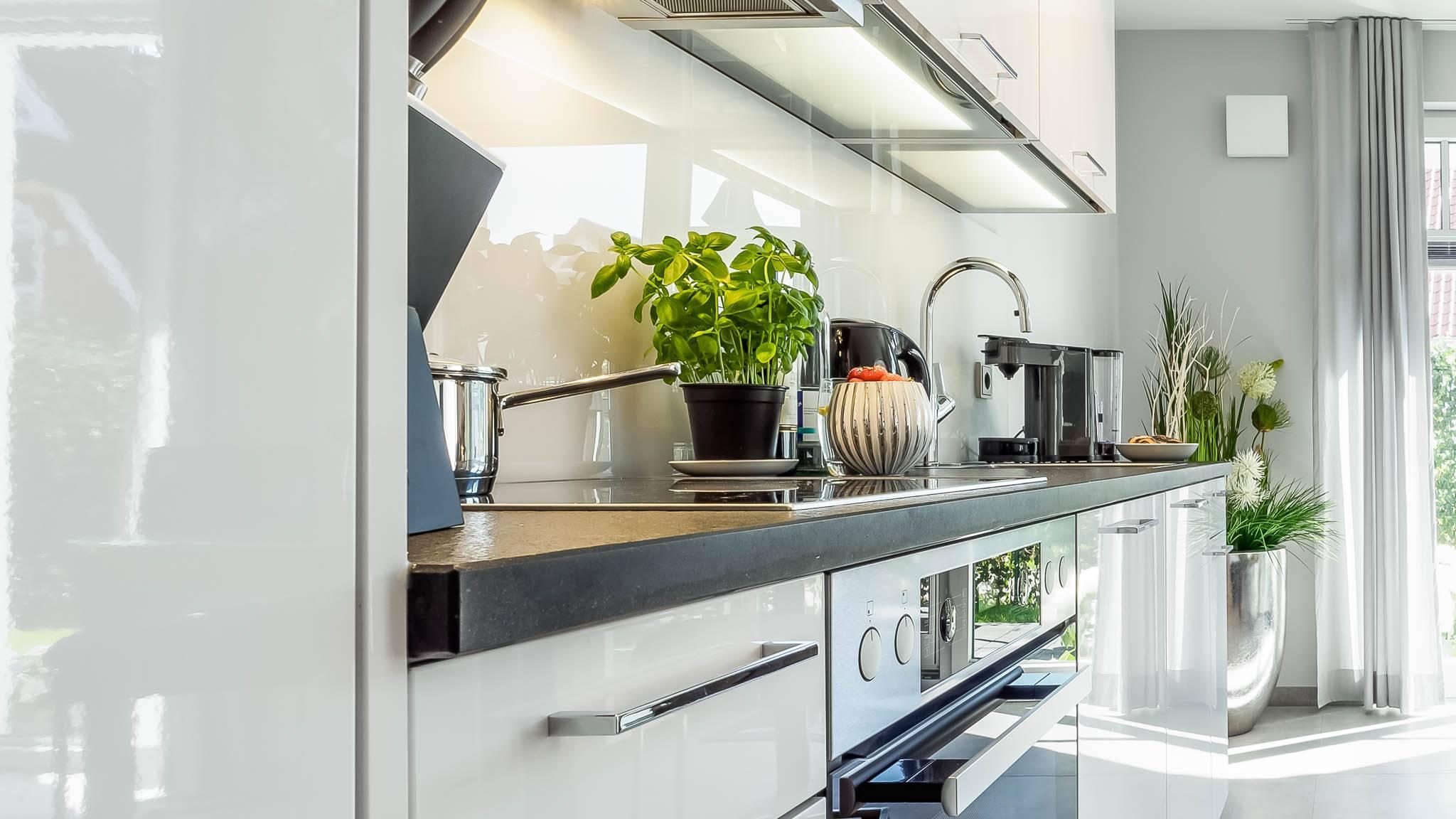 Ferienwohnung meerle 1 – Offene Küche