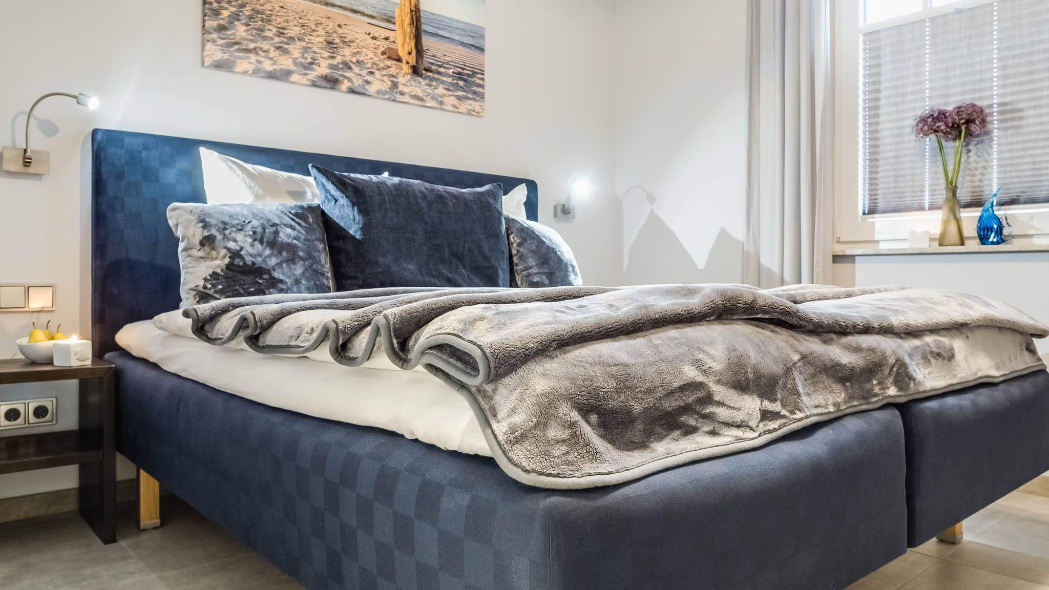 Ferienwohnung meerle 3 - Schlafzimmer