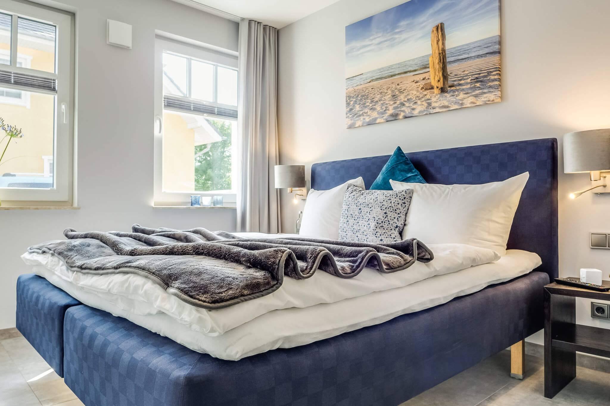 Ferienwohnung meerle 2 – Schlafzimmer