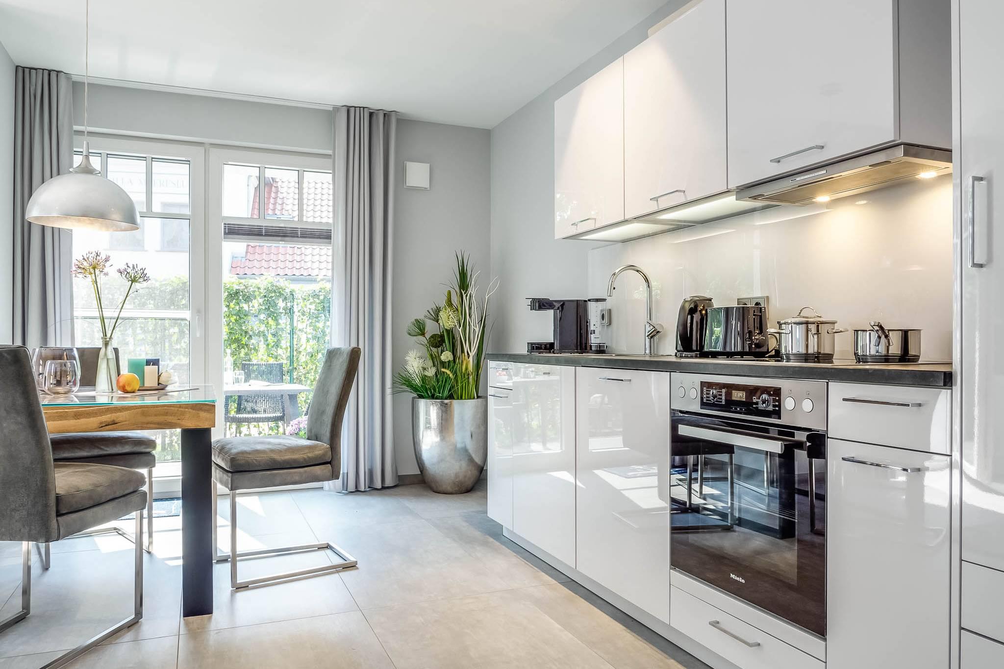 Ferienwohnung meerle 2 – Offene Küche