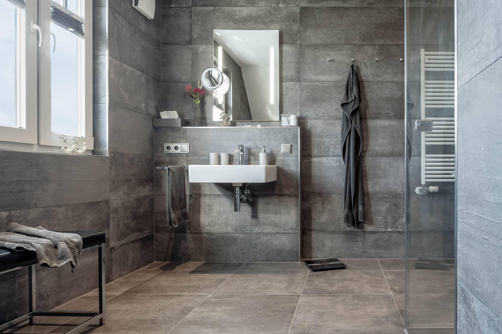 Ferienwohnung meerle 4 - Duschbad