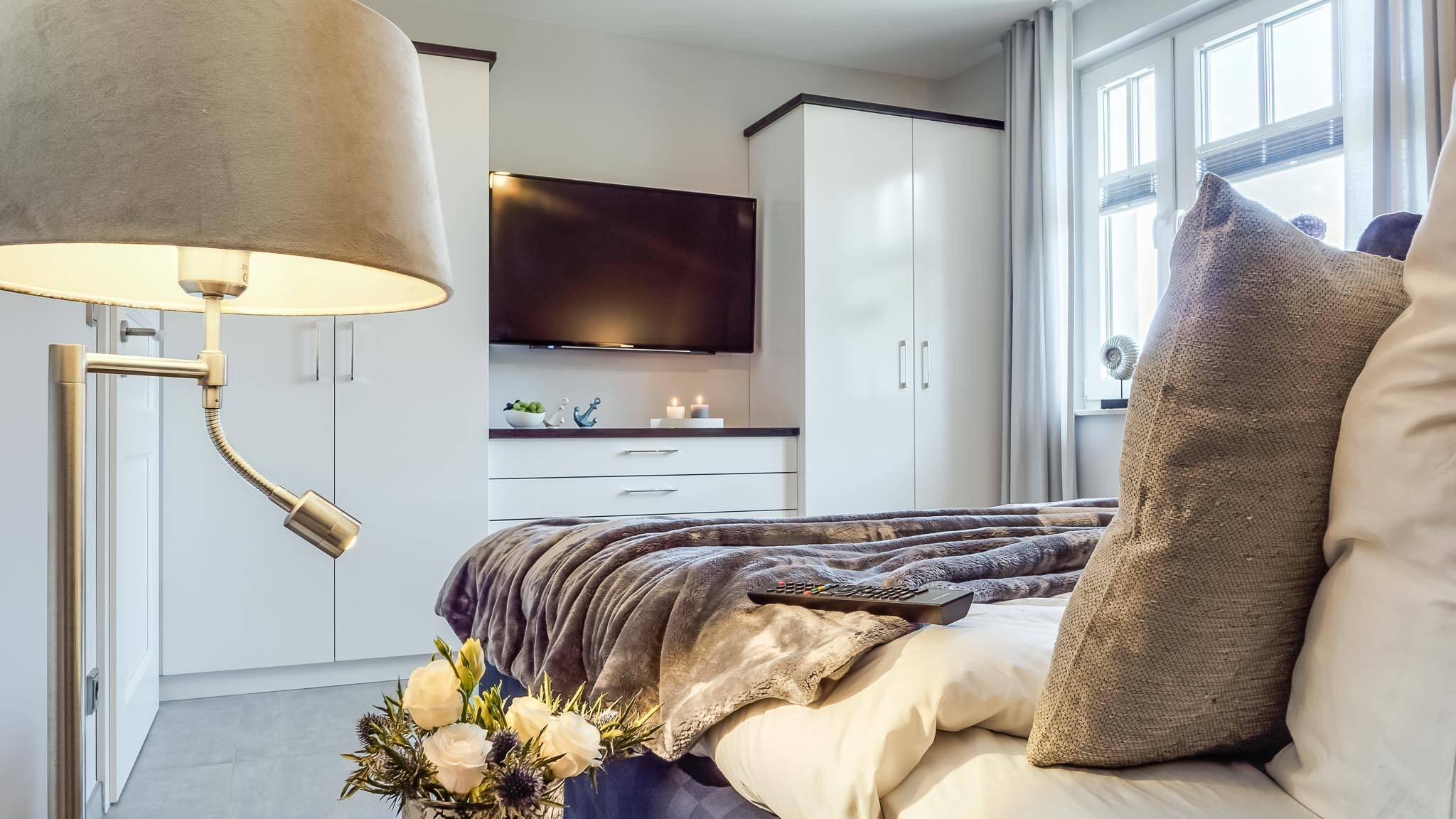 Ferienwohnung meerle 4 - Schlafzimmer