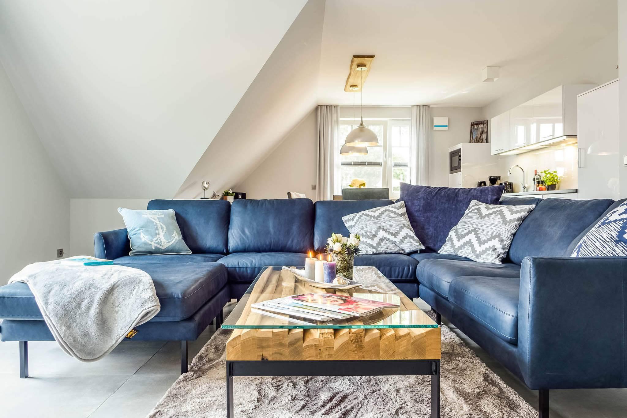 Ferienwohnung meerle 4 - Couch