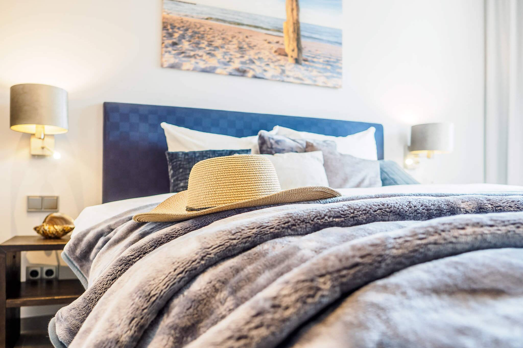 Ferienwohnung meerle 5 – Schlafzimmer