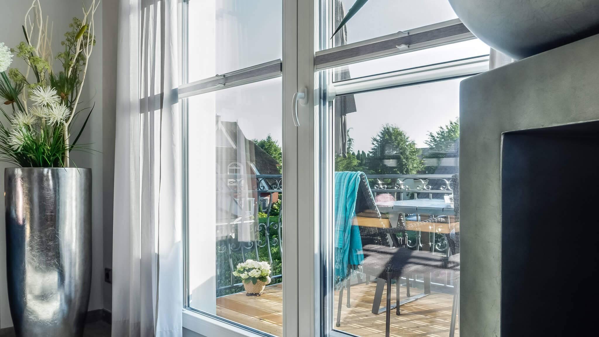 Ferienwohnung meerle 5 – Balkon